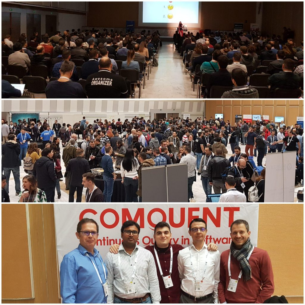 , Comquent in VoxxedDays in Thessaloniki 2018, Comquent GmbH, Continuous Quality in Software